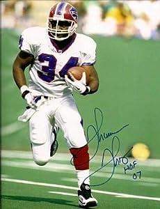 Signed Thurman Thomas Photo - 16 X 20 - Autographed NFL Photos