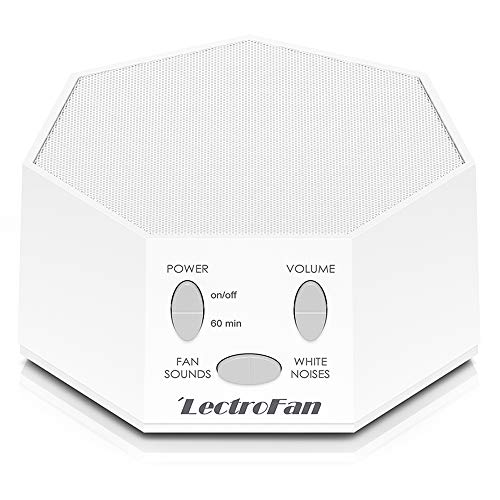 LectroFan Premium White Noise Sound Machine White - $32.17 Amazon
