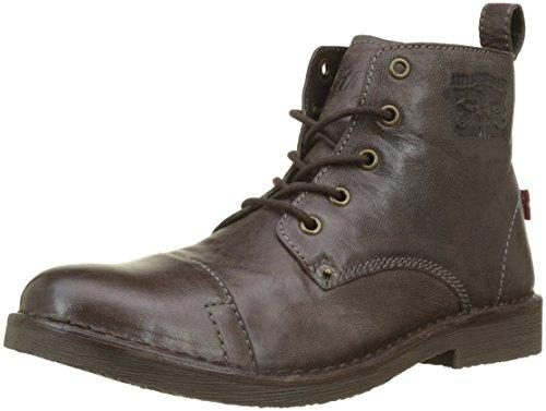 Levi's Herren Track Biker Boots, Braun (Dark Brown 29), 46 EU