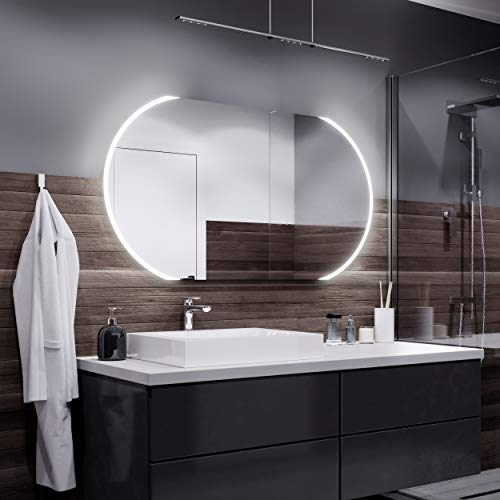 LED badkamerspiegel - Koele LED-kleur - Alle maten