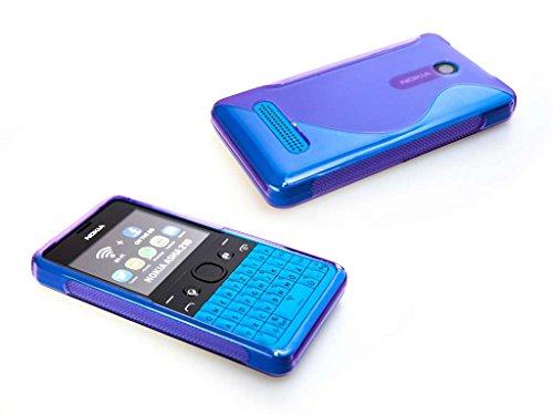 caseroxx TPU-Hülle für Nokia 210, Handy Hülle Tasche (TPU-Hülle in lila)