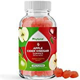 Apple Cider Vinegar Gummies for Weight Loss Cleanse and Detox - Natural Appetite Suppressant Belly Fat Burner and Metabolism Booster Gummies Vitamins for Adults