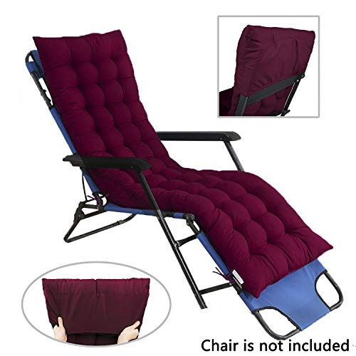 sdraio da giardino con cuscino SHGDDYSB - Cuscino per sedia a sdraio da giardino