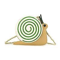 TIMETRIES 漫画かわいい子供用バッグメッセンジャーバッグリトルガールショルダーバッグ,カタツムリ