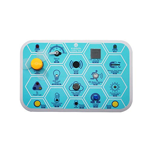 KEYESTUDIO Two in one Starter Kit for Kids Learn Electronics and Programming