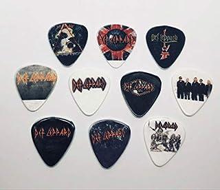 DEF LEPPARD Guitar Picks Set (10 picks/10 diferent designs)