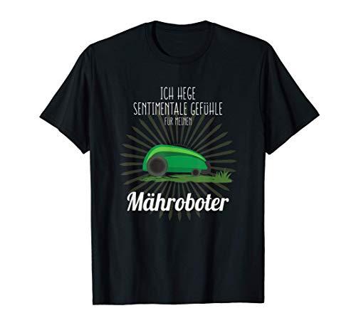 Mähroboter Rasenmäher T-Shirt