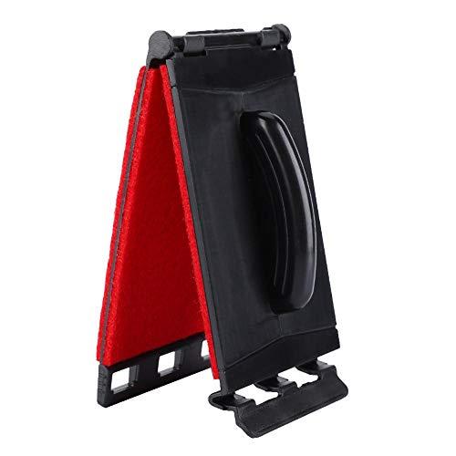 Limpiador de cuerdas de guitarra duradero, herramienta de limpieza y cuidado para instrumentos para bajo de guitarra (rojo)