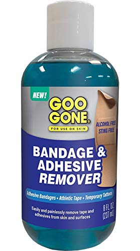 Goo Gone Bandage Adhesive Remover For Skin - 8 Ounce