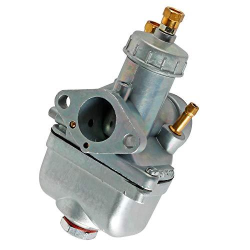 Wilktop Tuning Vergaser, 16N1-11 Vergaser Motorrad Carburetor 21mm Passend für Simson MZA 16N1 oder Simson S50 S51 S70