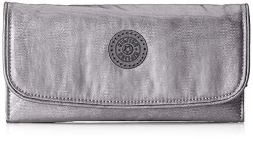 Kipling Money Land Women's Wallet, Black (Carbon Metallic), 18.5x10x3 Centimeters (B x H x T)