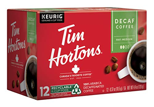 Tim Hortons Decaf, Medium Roast Coffee