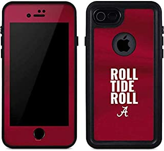 Skinit Waterproof Phone Case for iPhone 7 - Officially Licensed College Alabama Roll Tide Roll Design