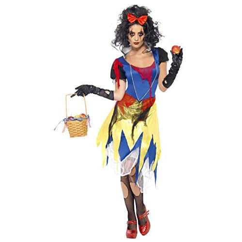 SMIFFYS Disfraz De Princesa Nieves Tenebrosa Para Mujer - M