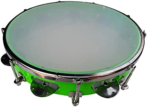 Alligator Fibre Dafli Tambourine Random colour 8 inch Hand Percussion Musical Instrument