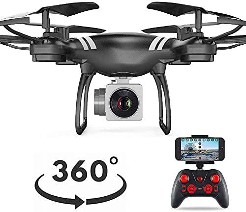 GPS 4 Assi Gyro Mantenimento dell'altitudine modalità Senza Testa Drone a Lungo Raggio Video in Diretta HD Telecamera WiFi 2,4 GHz FPV Quadcopter Elicottero 8 Minuti Volo a Lungo Raggio