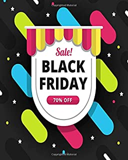 Black Friday Sale: Black Friday Holiday Shopping Sales Planner and Cyber Monday, Gift List Organization (Happy Planner)