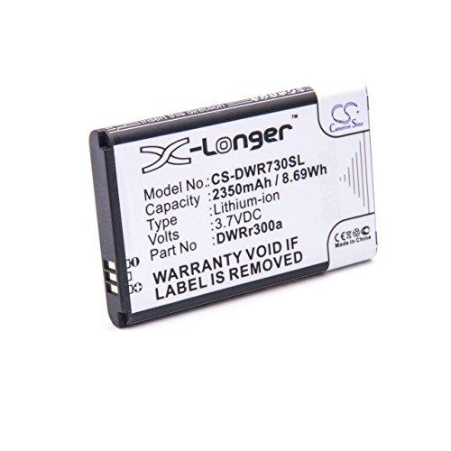 vhbw batteria sostituisce D-Link DWRr600b per hotspot modem router portatile (2350mAh, 3,7V, Li-Ion)