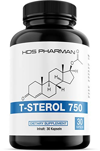 T-Sterol 750 – Maca, Tribulus, Pflanzensterol, L-Arginin, Zink – Hochdosiert – Made in Germany