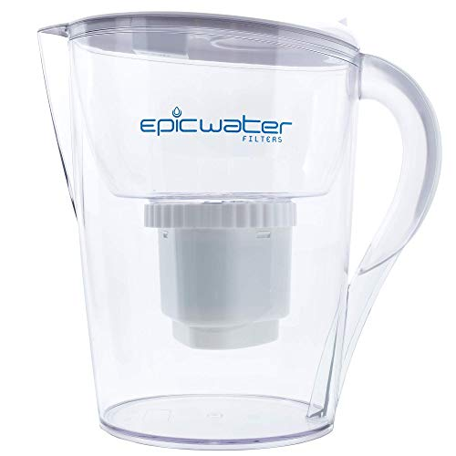 Epic Pure | Water Filter Pitchers for Drinking Water | 10 Cup | 150 Gallon Long Last Filter | BPA...