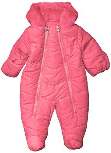 Steve Madden Girls Baby Girls Pram (More Styles Available), Snowsuit Medium Pink, 3-6 Months