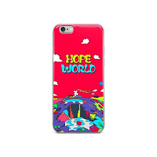 iPhone 6/6s Pure Clear Case Cases Cover J-Hope Hope World Album Art v1