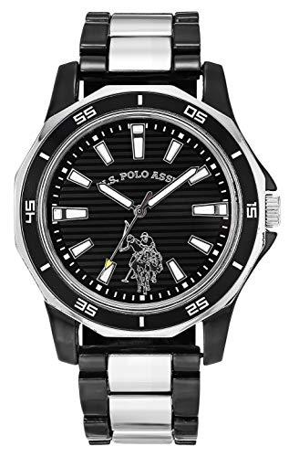 U.S.POLO ASSN. Reloj analógico para Hombres de Cuarzo con Correa en Aleación USC80640AZ