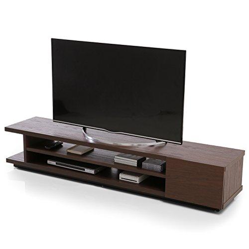 LOWYA ロウヤ テレビ台 50インチ 50型 180cm テレビボード ローボード モダン ウォルナット