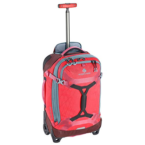 Eagle Creek Gear Warrior Carry Luggage Softside 2-Wheel Rolling Suitcase, Coral Sunset