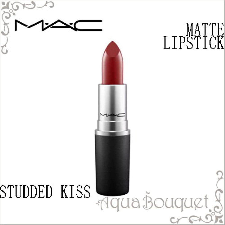 強打事業内容破産マック(MAC) THE MATTE LIP リップスティックマット #スタディッド キス 3g [388325][並行輸入品]