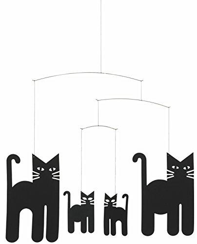 Flensted Mobiles - Windspiel, Mobile - Cats/Katzen - 30 x 36 cm