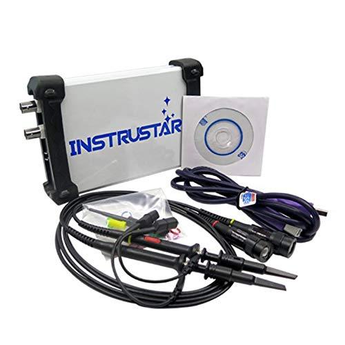 Baalaa ISDS205A 3 en 1 Analizador de Espectro de Ancho de Banda de 20 M Multifuncional + Registrador de Datos + Osciloscopio Digital Virtual de Mano USB para PC