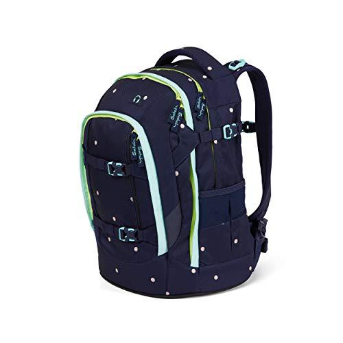 Satch pack Schulrucksack - ergonomisch, 30 Liter, Organisationstalent - Pretty Confetti - Blau