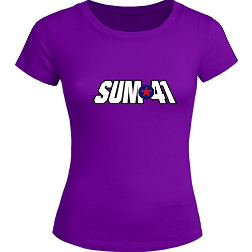 Sum 41 Tops T shirts -  T-Shirt - Donna Purple Small