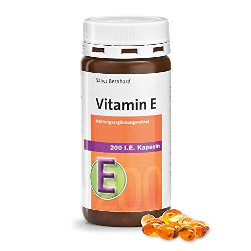 Sanct Bernhard Vitamin E 200 I.E. Kapseln, 240 Kapseln