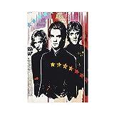 Leinwand-Poster, Rockband The Police, für Schlafzimmer,
