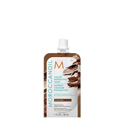 Moroccanoil Color Depositing Hair Mask Packette, Cocoa, 1 oz