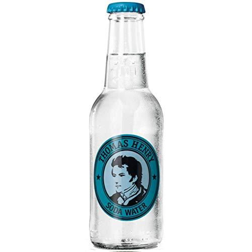 Thomas Henry Soda Water, 200 ml, 24 Stück