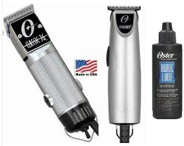 discount Combo Limited Edition Oster 76 and T Finisher outlet sale Silver and a 4 oz lubricating Oil Clipper sale and Trimmer. online