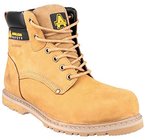 Amblers Safety Herren 147 S3 Schuhe Arbeitsschuhe Honig 40