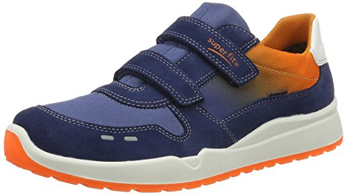 Superfit Jungen Strider Sneakers, Blau (Water Kombi 88), 33 EU