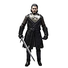 Incredibly detailed figure of Jon Snow modeled from digital scans of actor kit Harington Jon Snow is showcased in his iconic attire from season Seven of game of Thrones Features 12+ points of articulation Figure comes with legendary longclaw sword an...