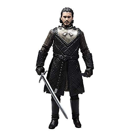 HEO GMBH- Game of Thrones Juego De Tronos Figura Jon Nieve, Multicolor (MC Farlane 10651-0)