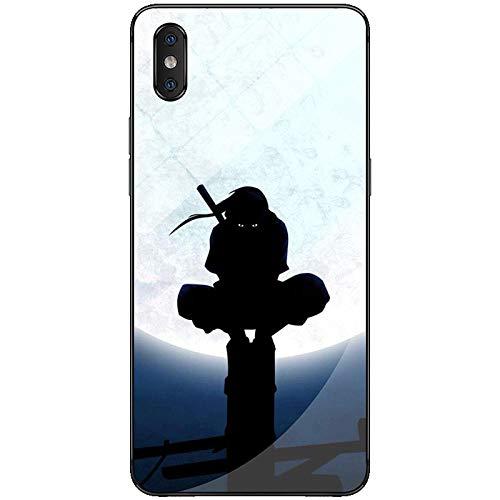 Carcasa de Silicona Suave para iPhone X, XS, XS MAX, XR, 6, 6S, 7 y 8 Plus, diseño de Naruto, Sasuke, Kakashi, Itachi-Photo_Color_12_Pro_MAX