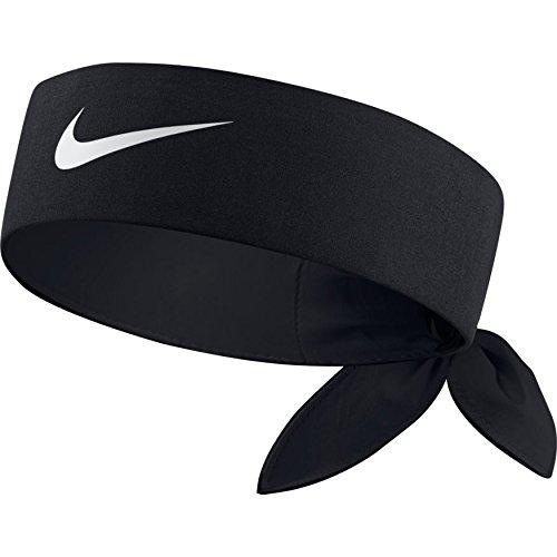 Nike Tennis Headband Black/Black//White One Size