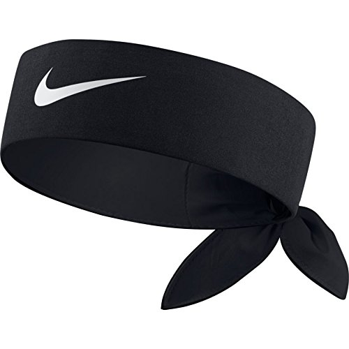 importante Cartas credenciales bronce  Buy Nike Tennis Headband Black/Black//White One Size Online at Low Prices  in India - Amazon.in