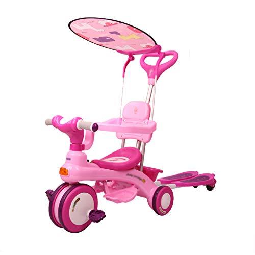 Baby Kind Dreirad, Junge Mädchen Dreirad, Kinderwagen Kinderwagen, Abnehmbare, Säuglings-und Kinderfahrrad, Fahrrad, Roller, Fahrt Tandem