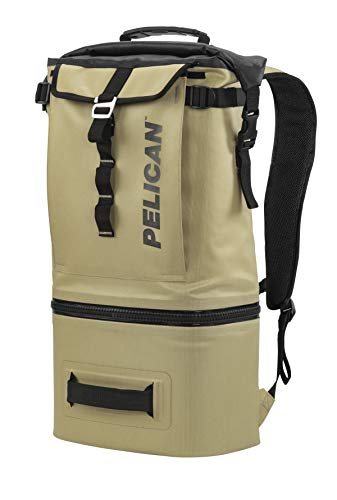 Pelican Elite Backpack Cooler with Leak Resistant Zipper And Insulated Inner Walls