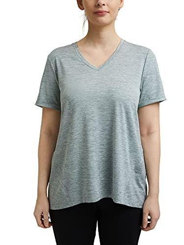 Esprit Sports RCS t-Shirt Edry Maillot de Yoga, 336/Dusty Green 2, XXXL Femme