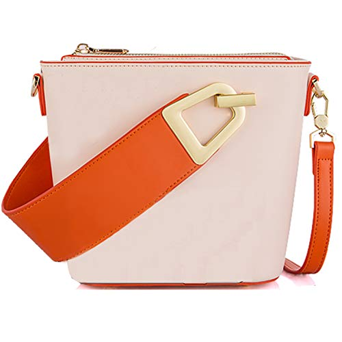 Oscaurt Crossbody Bag for women, Small Pu Leather Handbag Purse Tote For Girls with Adjustable & Removeable Shoulder Strap